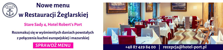 Nowe menu Restauracji Żeglarskiej