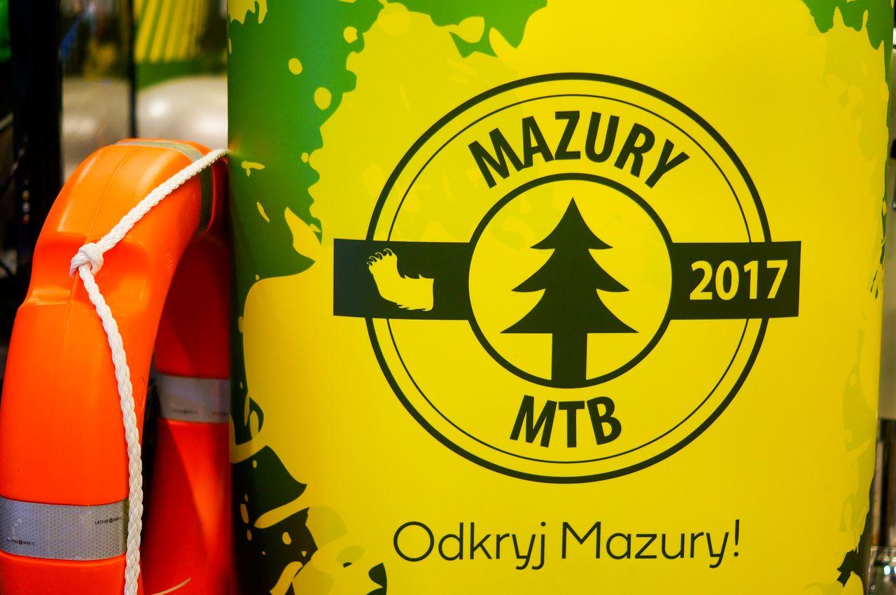 Rowerowe Mazury na Bike Expo