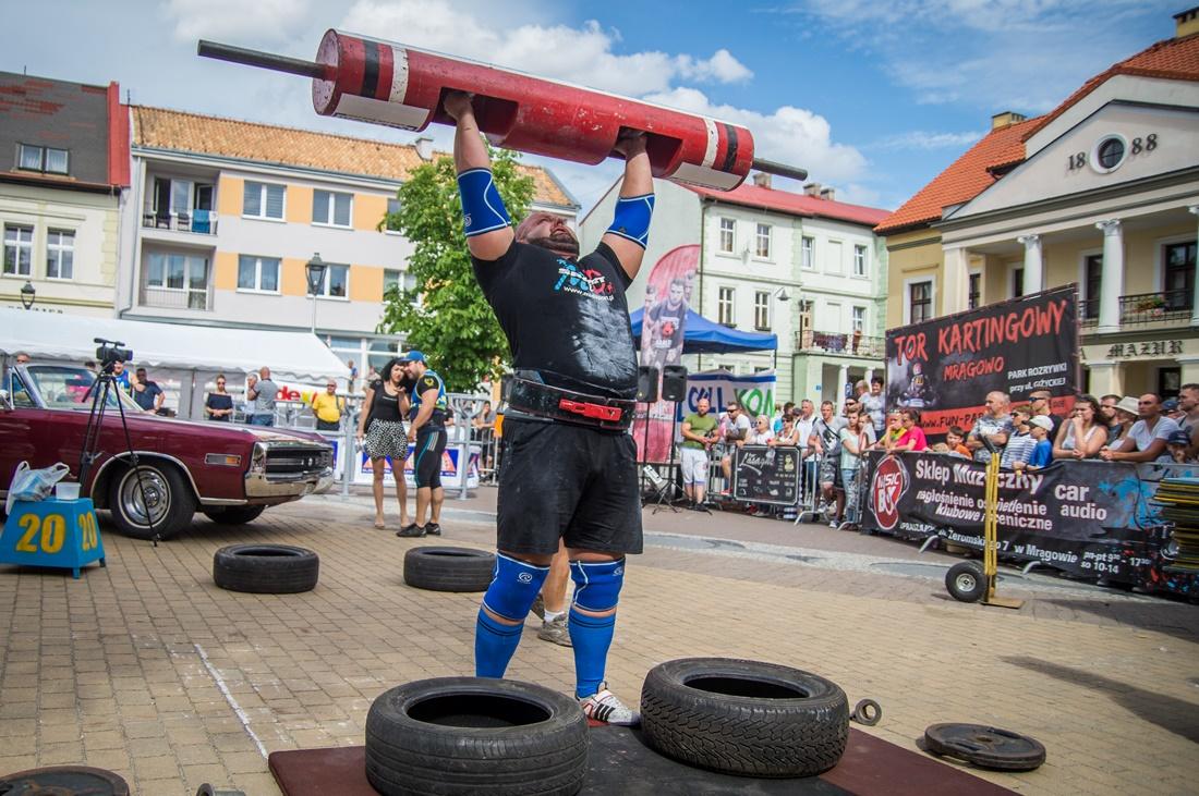 Zawody StrongMan 2017