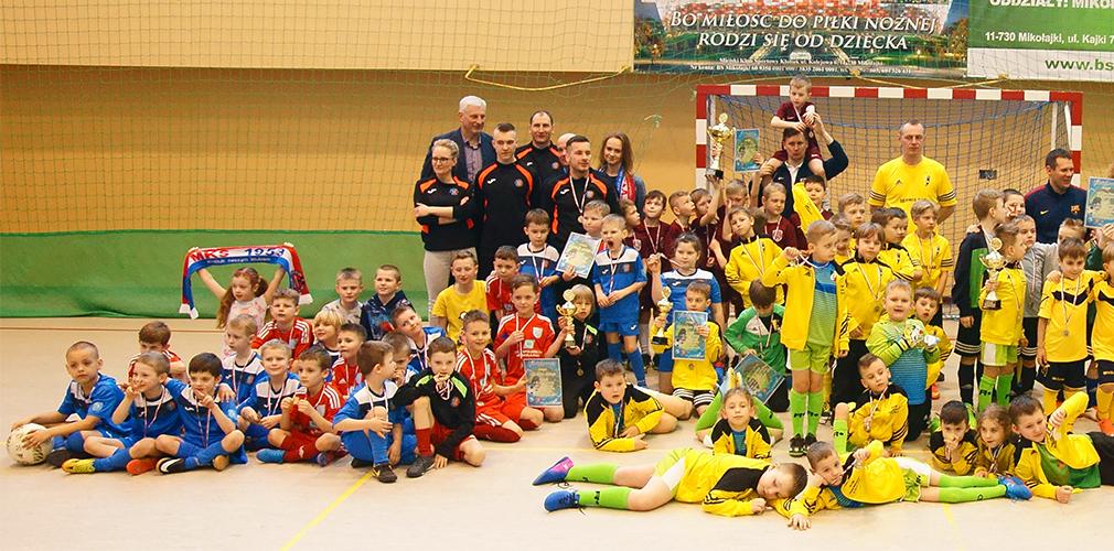 Giżycko wywalczyło Puchar Burmistrza Mikołajek