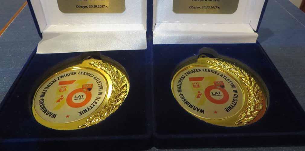 Brodowscy wyróżnieni z okazji 70. lat Związku Lekkiej Atletyki