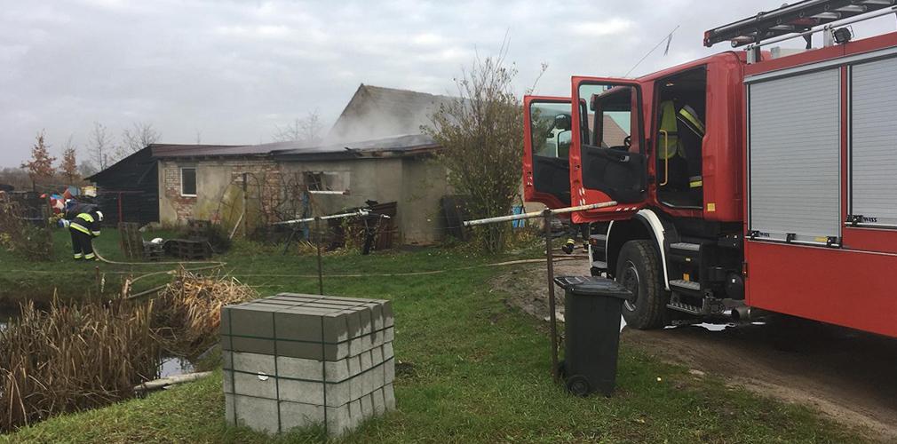 Spłonęły dwa pojazdy