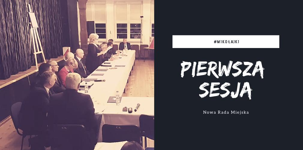 Transmisja Online: Pierwsza sesja nowej rady