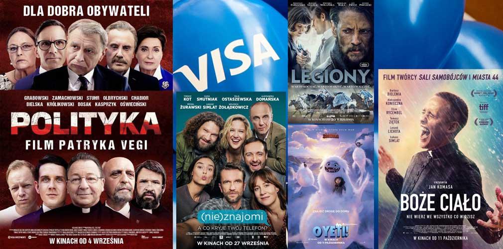 Zbliżeniowe Kino Visa dwa dni w Mikołajkach