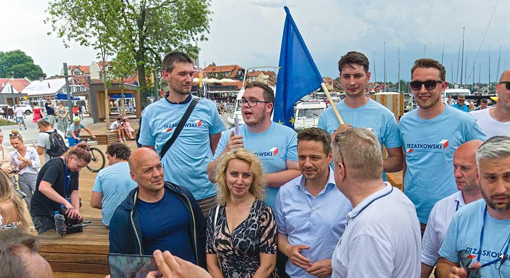 63 procent na Rafała Trzaskowskiego - tak głosowano w Mikołajkach